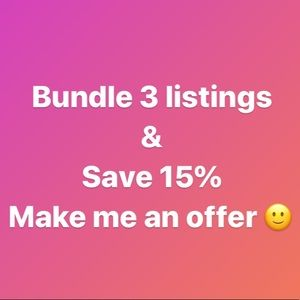 Other - Bundle 3 listings & Save 15%